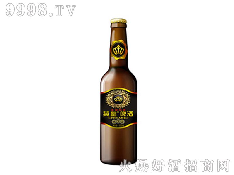 英皇啤酒王者风范500ml棕