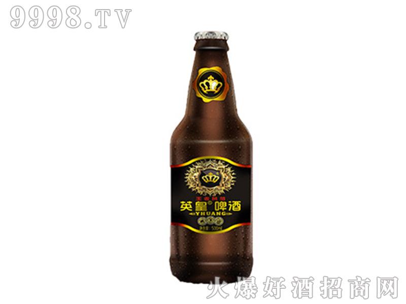 英皇啤酒王者风范500ml棕瓶