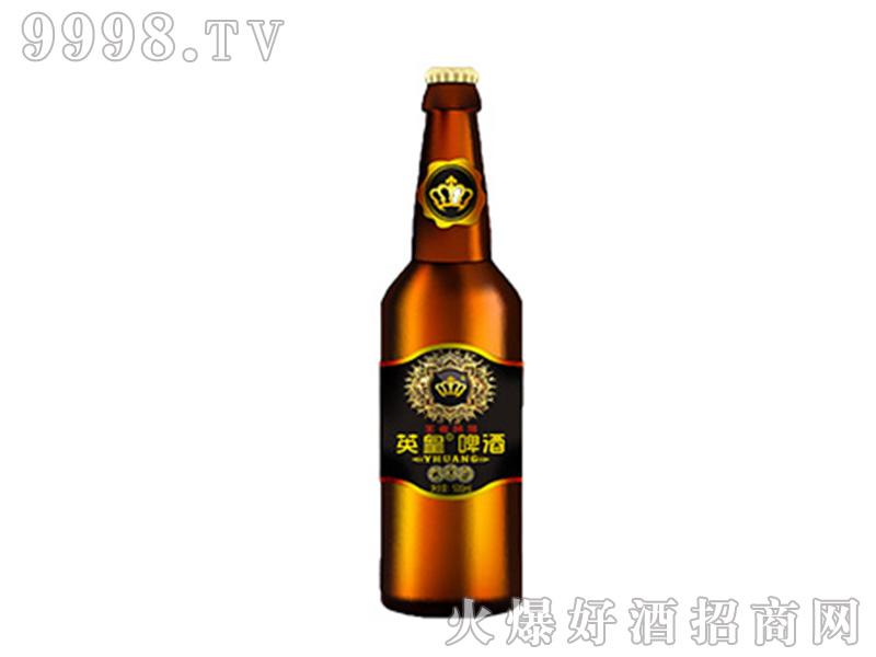 英皇啤酒王者风范500ml异型标