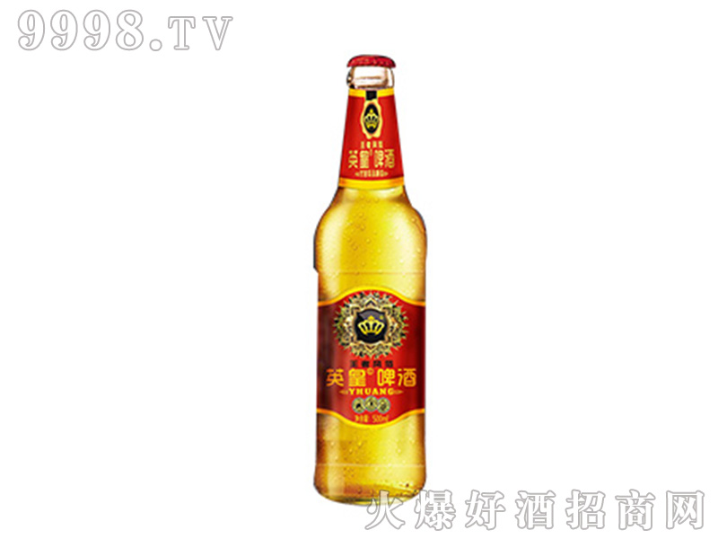 英皇啤酒王者风范500ml红标