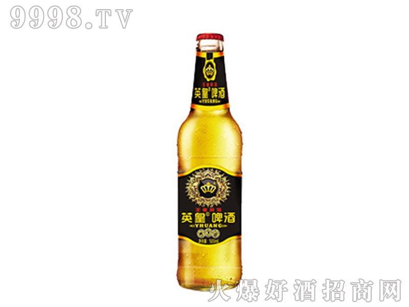 英皇啤酒王者风范500ml黑标