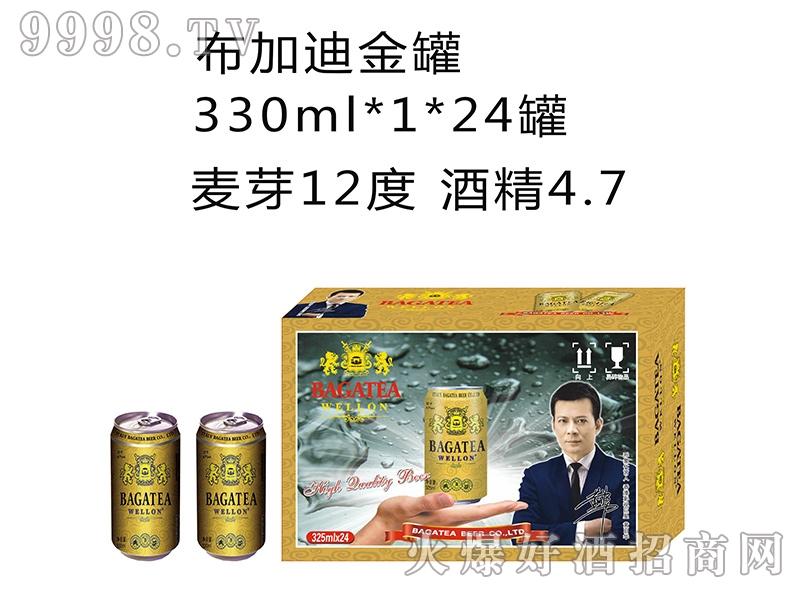 布加迪金罐330MLx1x24罐